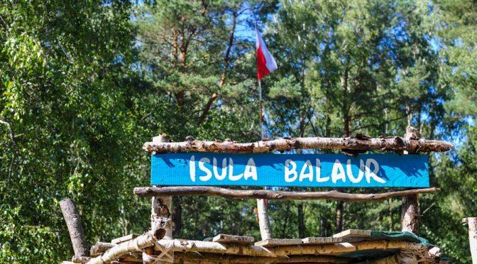 """Obóz Harcerski """"Balaur"""" w Unieściu"""